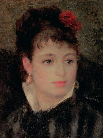 358px-Renoir_Woman_with_rose_in_her_hair