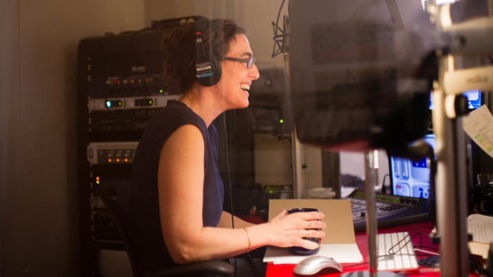 Sarah Koenig, photo by Elise Bergerson from the Rolling Stone website